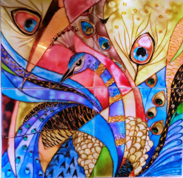 50 glass painting pattern ideas and designs for Best glass painting designs