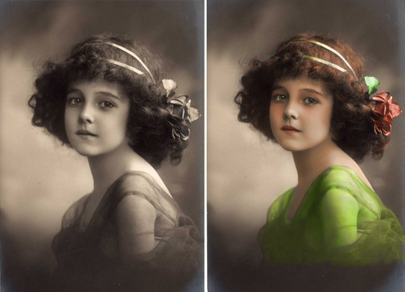 How to Colorizing An Old Black And White Picture Using GIMP