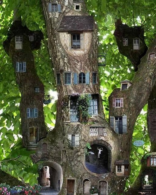 35 Beautiful Tree House Ideas - Bored Art
