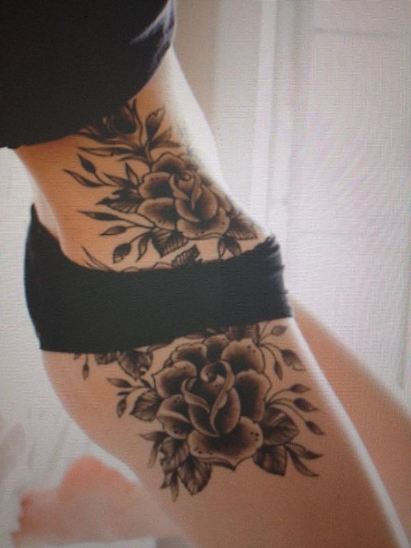 6eda3024d 40 Sexy Hip Tattoo Designs For Women
