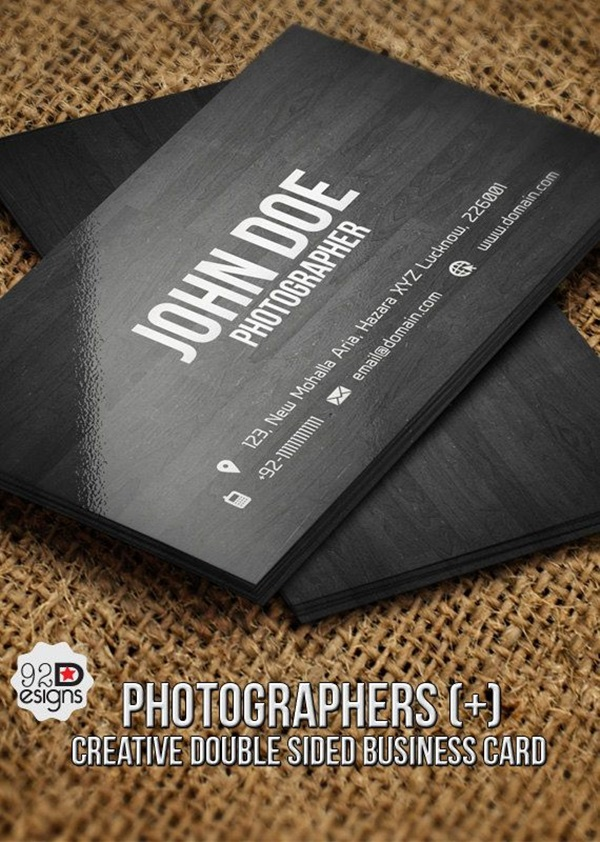40 Cool Business Card Ideas For Photographers - Bored Art