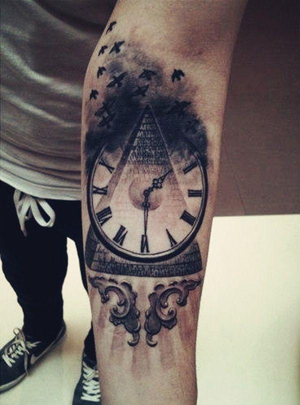 Tattoo Männer Arm Uhr 70 Armband Tattoo Designs For Men