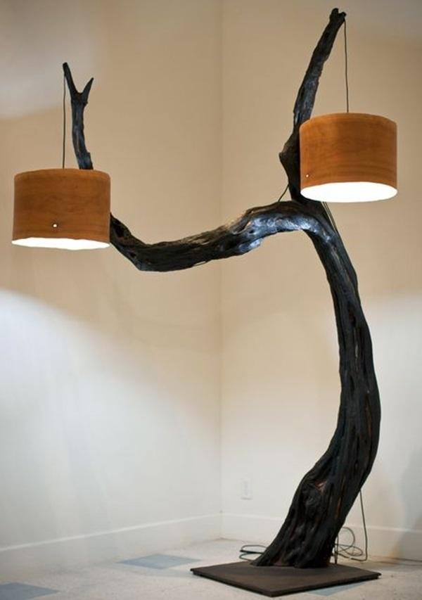 20 Beautiful Wooden Lamp Designs Home Bored Art