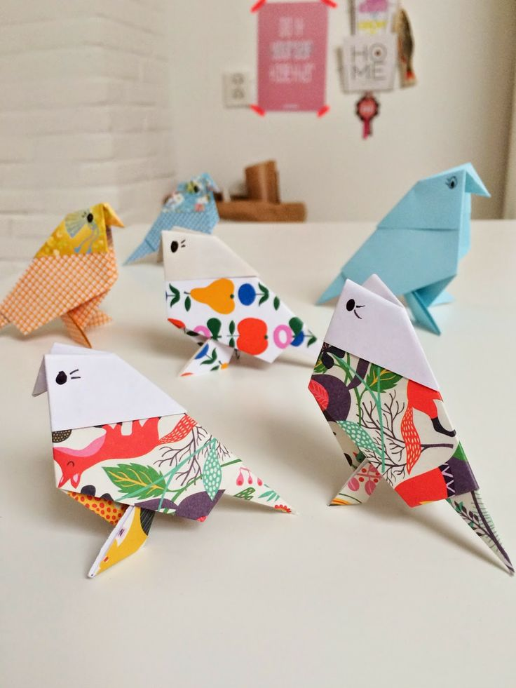 Origami the interesting art of folding paper to make for Craft work with paper folding