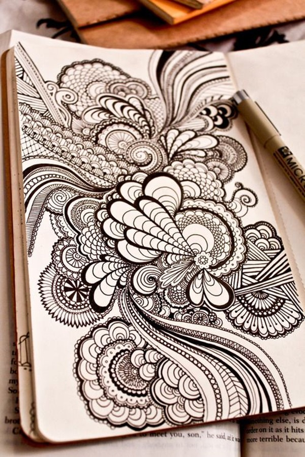 40 Beautiful Doodle Art Ideas Bored Art