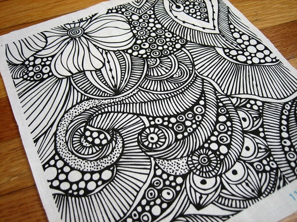 Easy Doodle Art Designs : 40 beautiful doodle art ideas bored