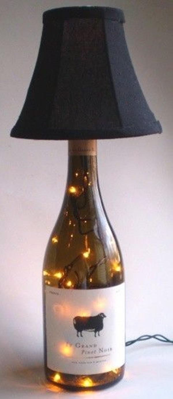 Beautiful Wine Bottle lamps 21 OLYMPUS