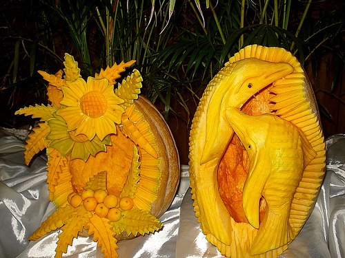 Art Of Carving Fruits And Vegetables Page 2 Of 2 Bored Art
