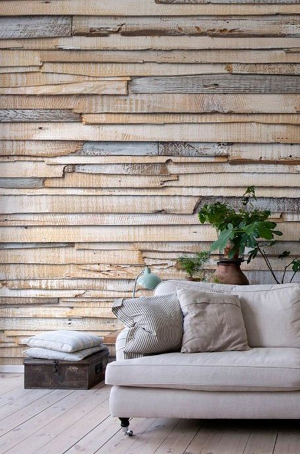 Cool Wood Wall Ideas 13