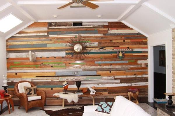 Cool Wood Wall Ideas 7