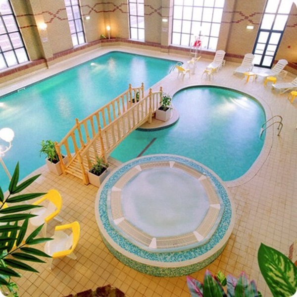 This Ecuadorian Mansion Comes With A Ridiculously Cool: 30 Ridiculously Cool Indoor Pool Ideas