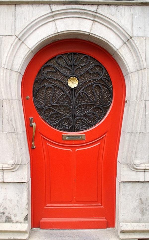 30 stunning front door ideas and designs for Special door design