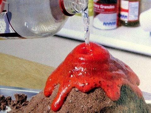 Как сделать пену для вулкана