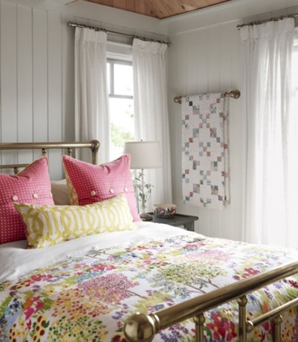 Comfy Cottage Style Bedroom Ideas 11