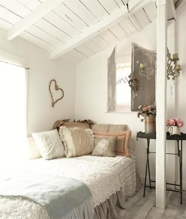 blue on spaces cottage stunning farmhouse cottages country rustic serene bed bedroom patterns bedrooms best and keep pattern via pinterest soft style this white cream images rules subtle where