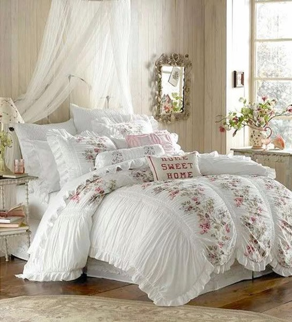 Romantic Shabby Chic Bedroom: 40 Cute Romantic Bedroom Ideas For Couples