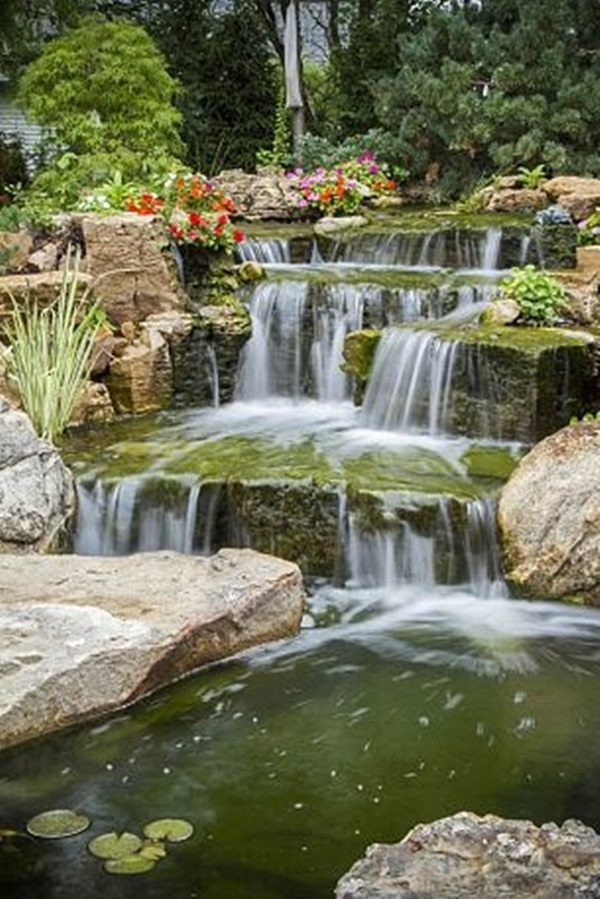 30 Elegant Backyard Pond Ideas on Elegant Backyard Ideas id=39690