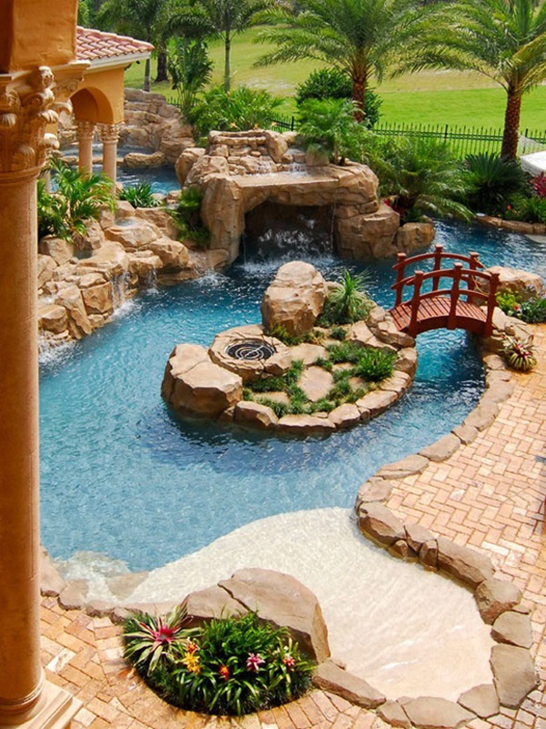 30 Elegant Backyard Pond Ideas on Elegant Backyard Ideas id=34341