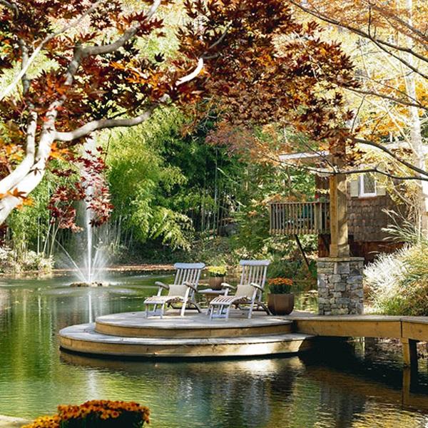 30 Elegant Backyard Pond Ideas on Elegant Backyard Ideas id=64819