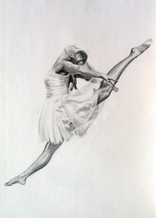 ballerina pencil drawing - photo #9