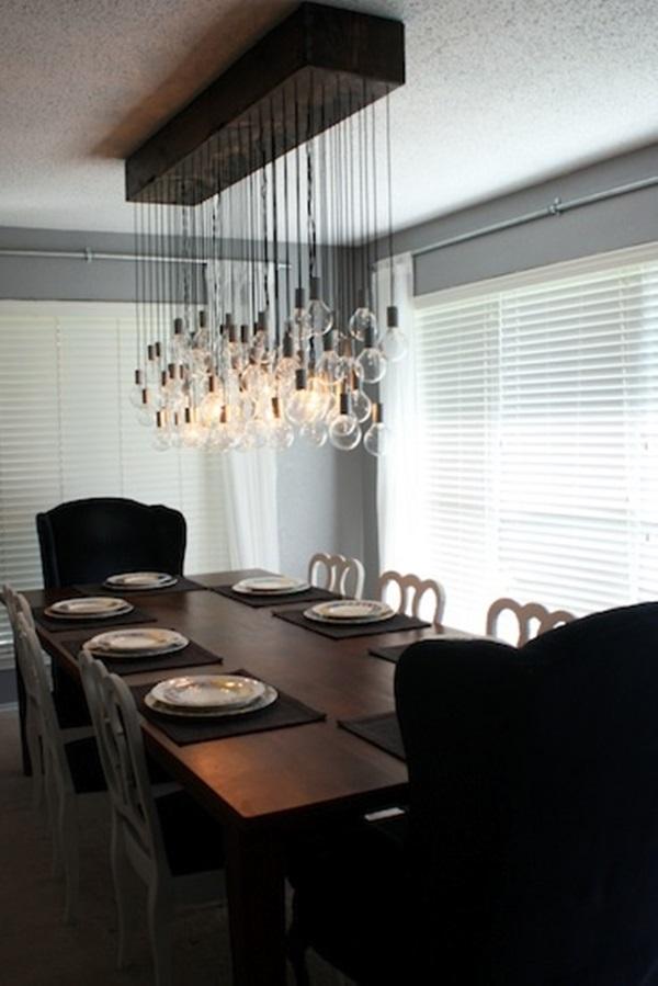 Tasteful Dining Room Lighting 15
