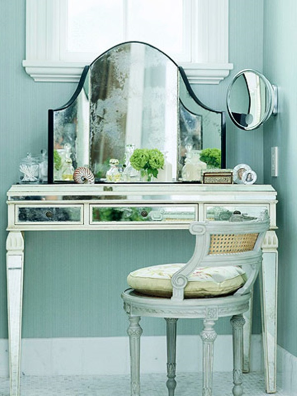 Perfect mirrored dressing table designs