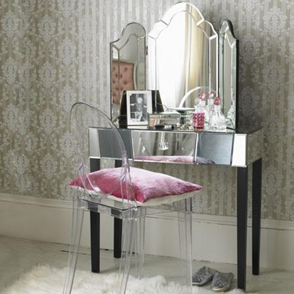 Vanity Table With Chair And Mirror Sevenstonesinc
