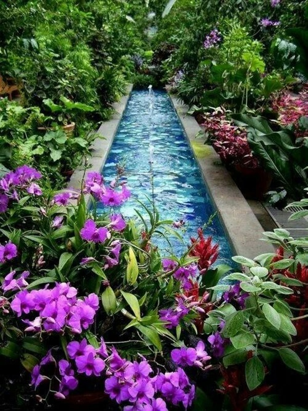 Ordinaire Beautiful Garden Fountain Ideas (19)