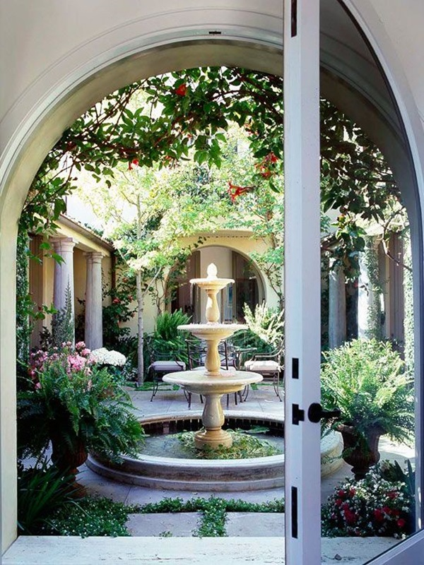 40 Beautiful Garden Fountain Ideas