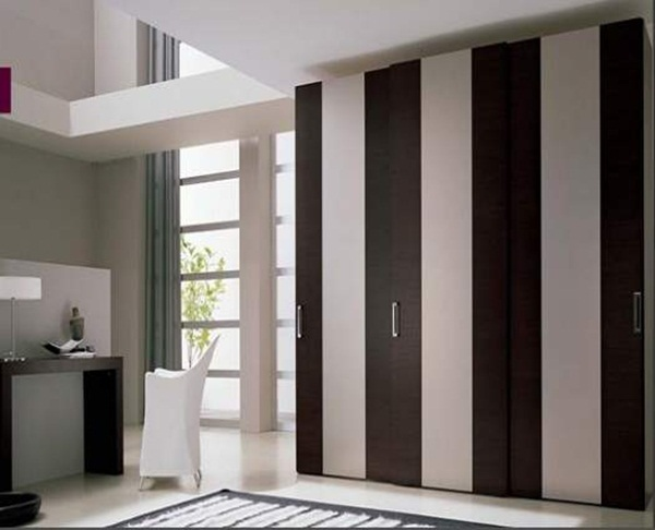Wooden Sliding Wardrobe Design