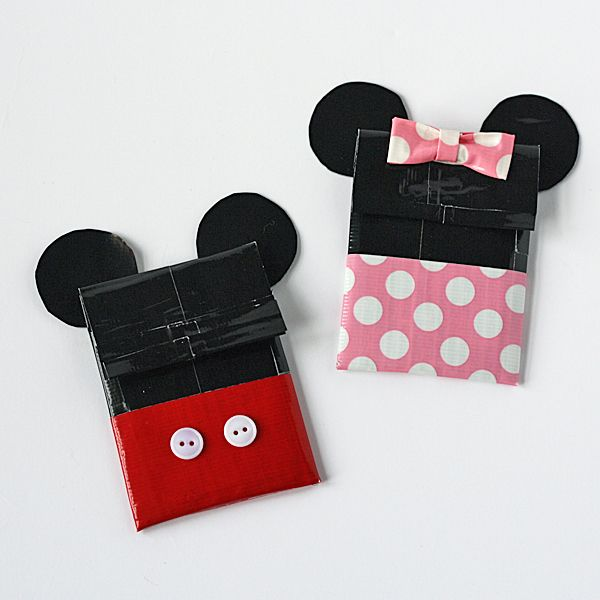 Duct Tape Crafts Gift Card Holders