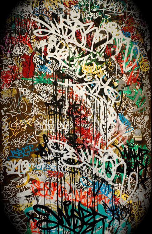 vandalism graffiti artist