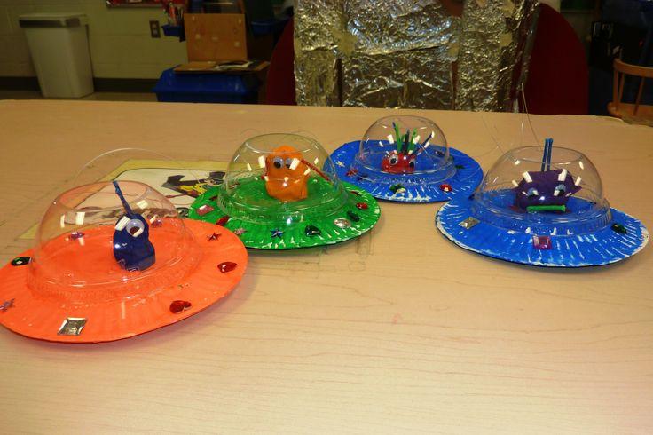 Paler Plate Craft Flying Saucer