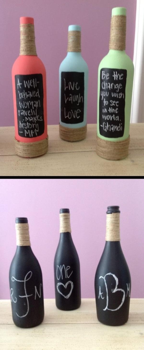40 creative chalkboard paint ideas for Creative spray paint ideas