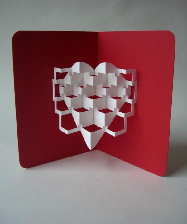 Видео оригами объемная открытка