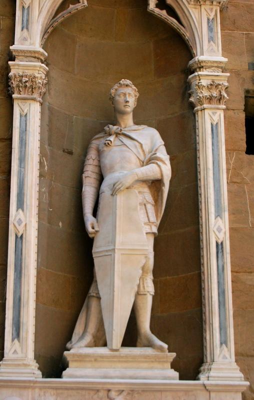 Donatello, St. George, 1415-1417 (Sculptural Commissions