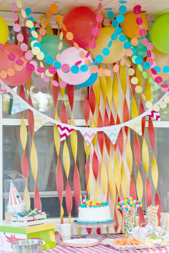 Paper Decorations To Make A Party Lovely And Lively Bored Art