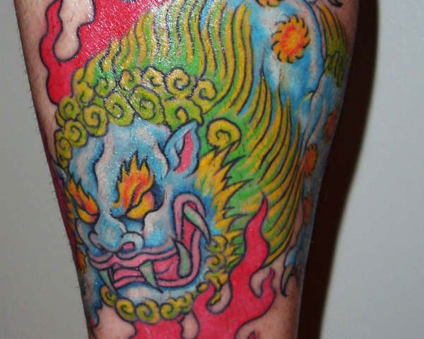 447d74c11 40 Foo Dog Tattoo Designs For You