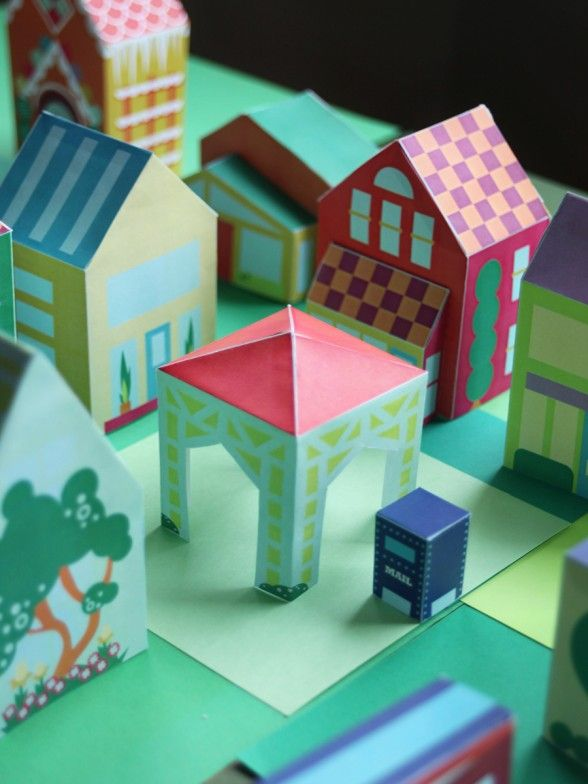 Superior House Craft Ideas For Kids Part - 4: Engaging Kids In Paper House Projects, Is Just One Way Of Getting Kids To  Be Interested In The Creative Aspects Of Life. This Way, You Will Find That  Kids ...