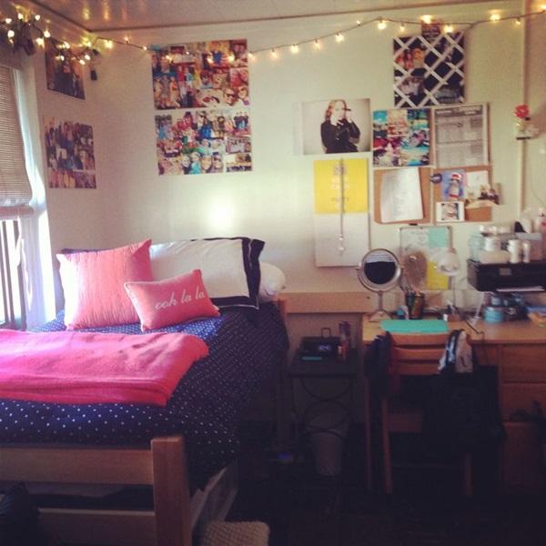 40 classic college dorm room decoration ideas - College dorm room ideas examples ...