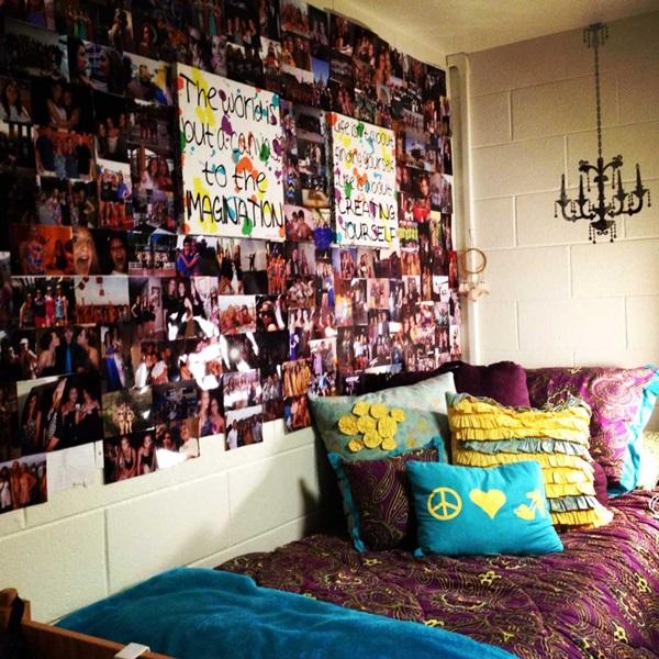 Classic College Dorm Room Decoration Ideas