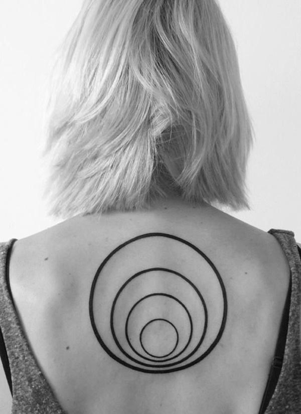 Pornstar circle tattoo