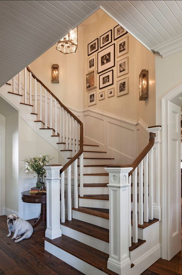Exceptionnel Must Try Stair Wall Decoration Ideas (1)