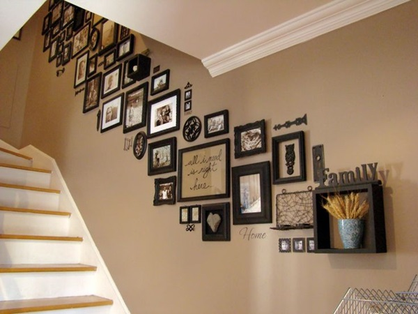 Superior Must Try Stair Wall Decoration Ideas (4)