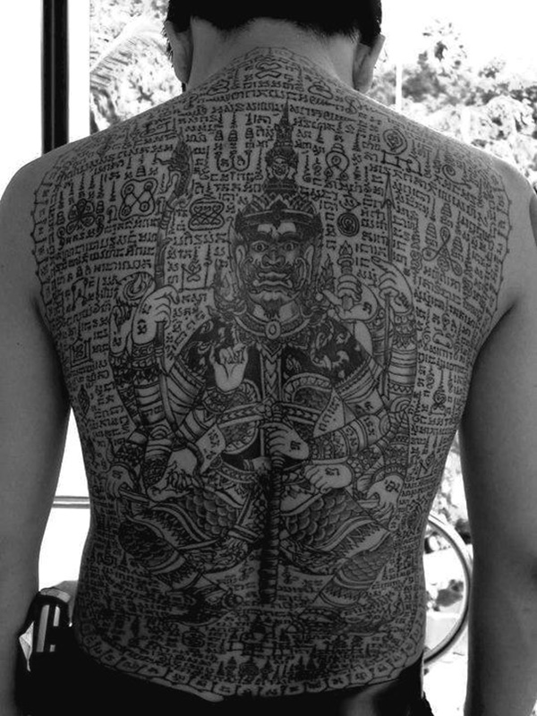 40 Traditional Thai Tattoo Designs