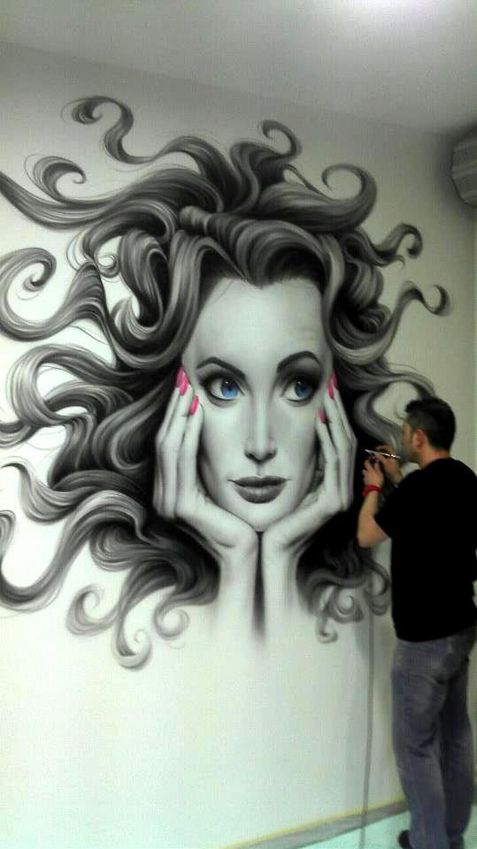 Airbrush art to add that touch of perfection - Salon art definition ...