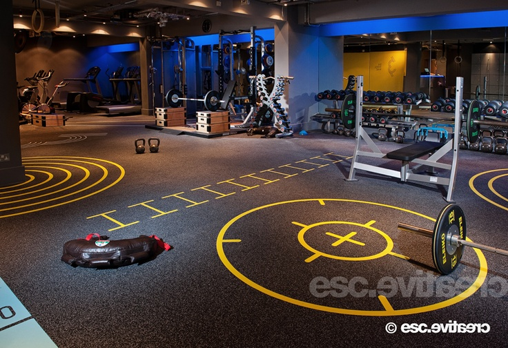 Art of designing gym interiors bored
