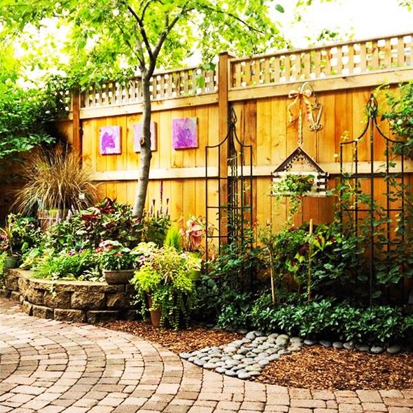 Garden Fence Decoration Ideas: 40 Creative Garden Fence Decoration Ideas