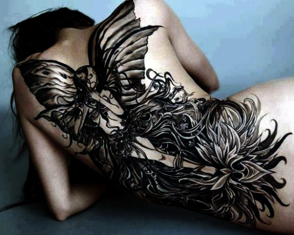 40 adorable fairy tattoo designs. Black Bedroom Furniture Sets. Home Design Ideas