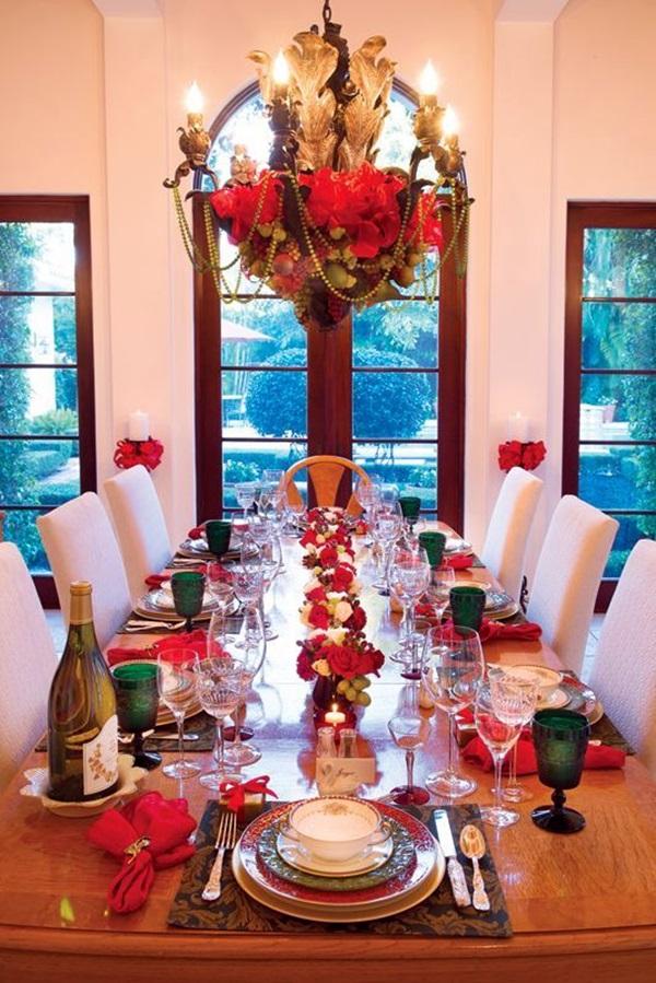 Creative Christmas Table Decorations